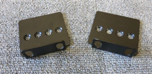 Genuine APC 870-5980 Pair Of 1U PDU Heavy Duty Mounting Brackets No Screws